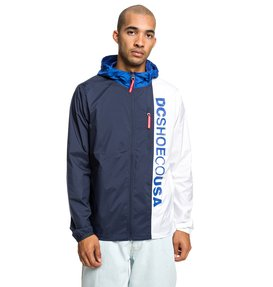 Dagup Triple Block - Water-Resistant Hooded Windbreaker for Men  EDYJK03197