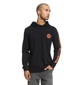 Rellin - Long Sleeve Hooded T-Shirt for Men  EDYKT03418