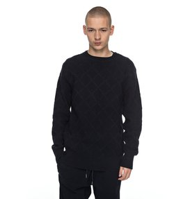 Solidify - Diamond-Knit Jumper for Men  EDYSW03027