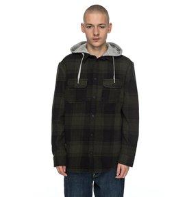 Runnel Flannel - Long Sleeve Hooded Shirt  EDYWT03162