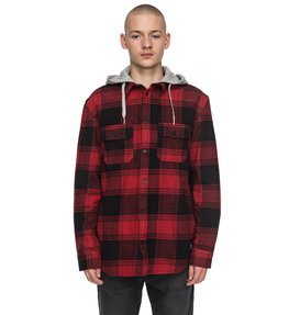 Runnel Flannel - Long Sleeve Hooded Shirt for Men  EDYWT03162