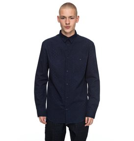 Swalendalen - Textured Long Sleeve Shirt for Men  EDYWT03167