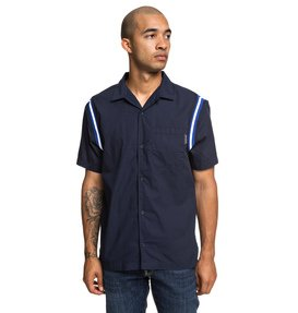 Inner Circle - Short Sleeve Bowling Shirt for Men  EDYWT03218