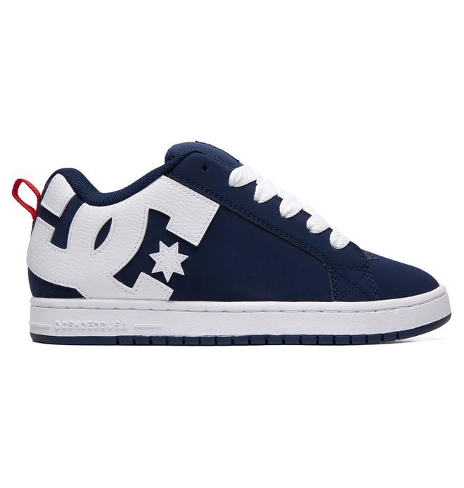 0 Court Graffik Shoes Black 300529 DC Shoes