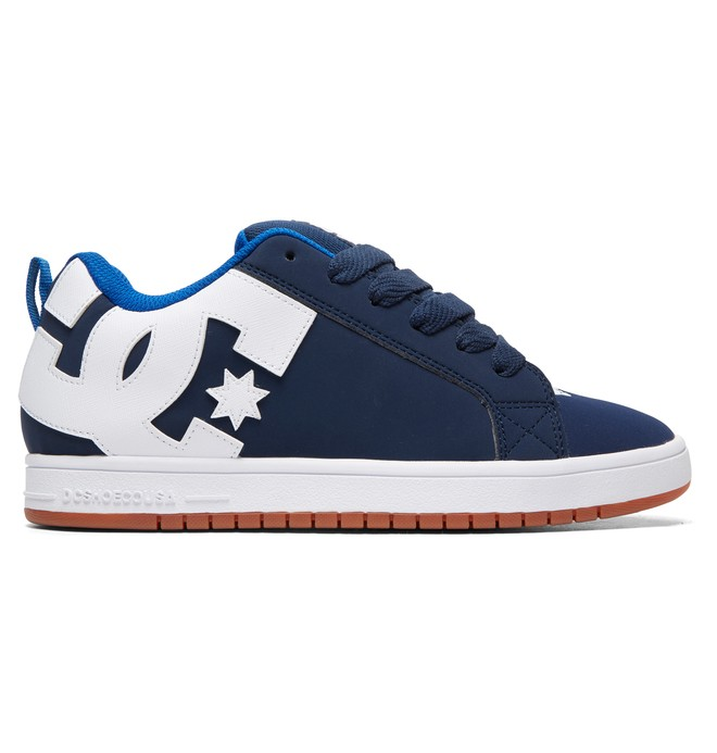 0 Court Graffik - Baskets pour Homme Bleu 300529 DC Shoes