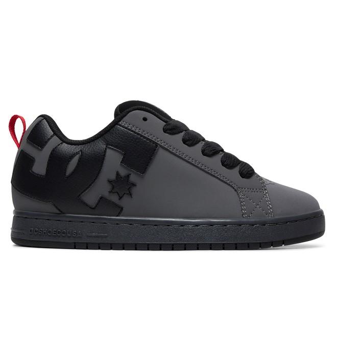 0 Zapatos Court Graffik Gris 300529 DC Shoes