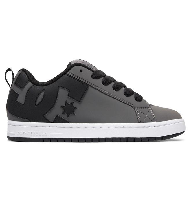 0 Court Graffik Shoes Grey 300529 DC Shoes
