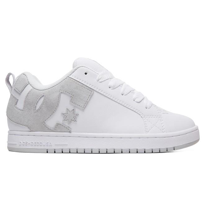 0 Court Graffik Shoes White 300529 DC Shoes