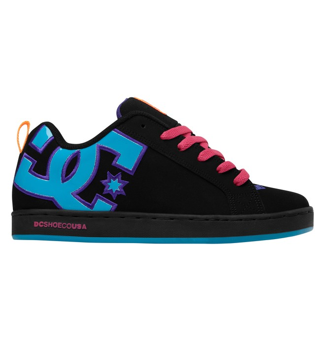 0 Women's Court Graffik Shoes  300678 DC Shoes