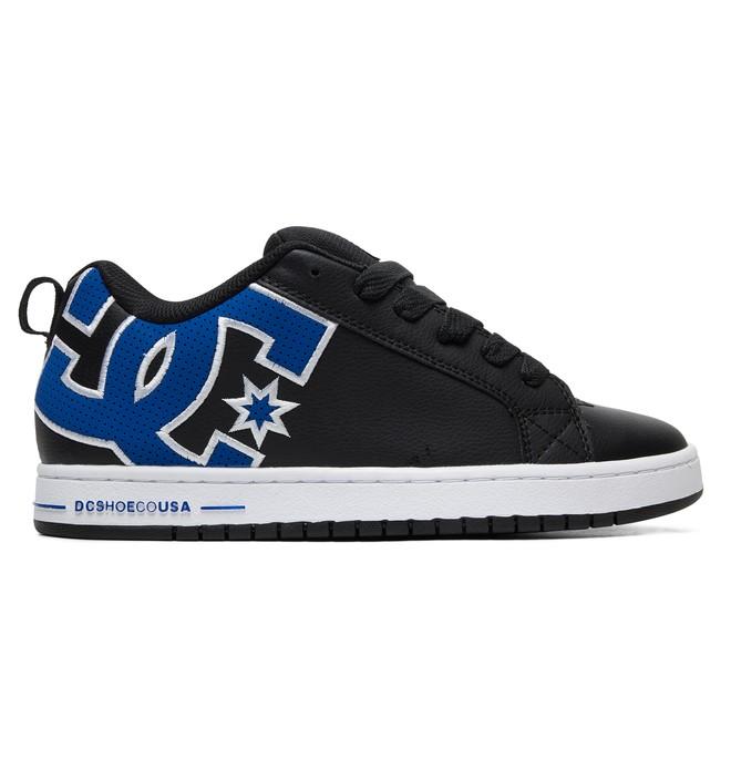 0 Court Graffik SE Shoes Black 300927 DC Shoes