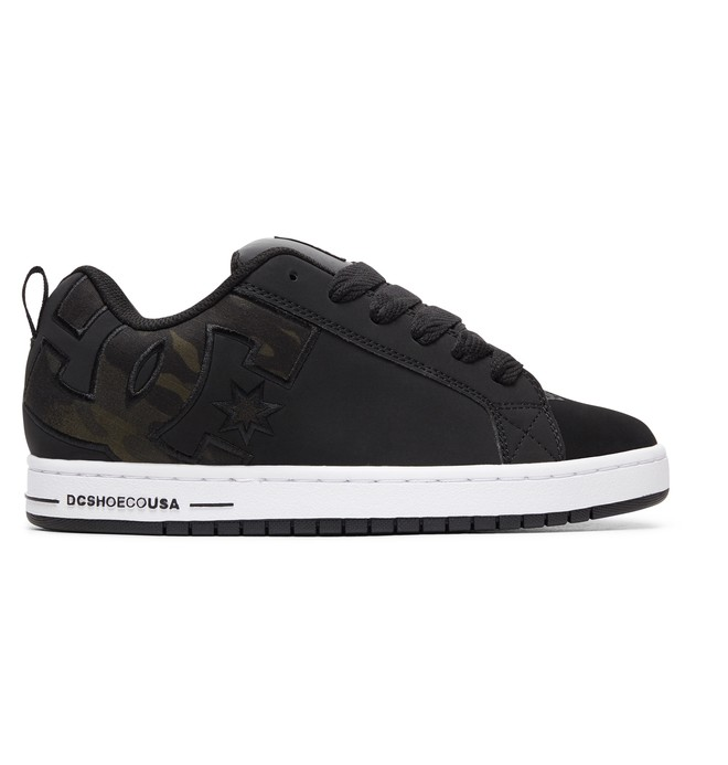 0 Court Graffik SE - Baskets pour Homme Noir 300927 DC Shoes
