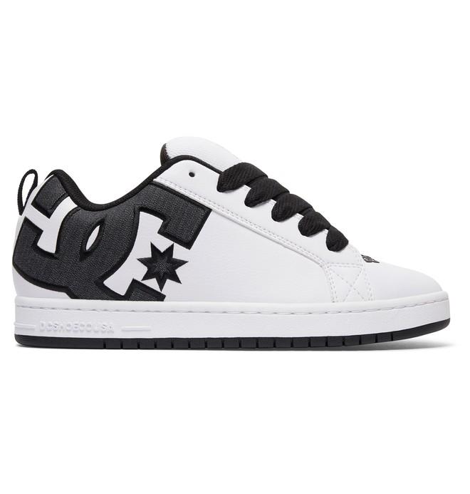 0 Court Graffik SE - Zapatos para Hombre Blanco 300927 DC Shoes