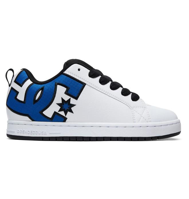 0 Court Graffik SE Shoes Blue 300927 DC Shoes