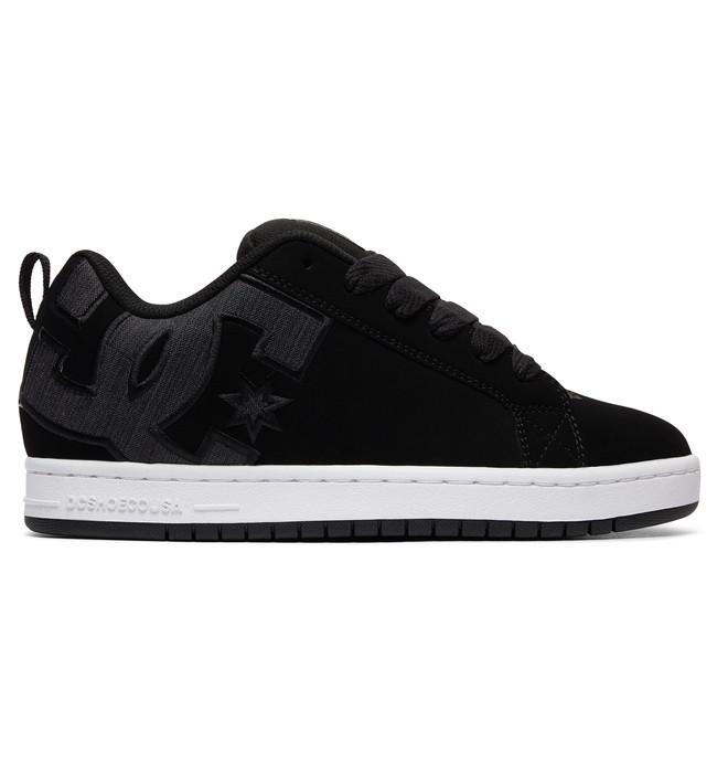 0 Men's Court Graffik SE Shoes Grey 300927 DC Shoes