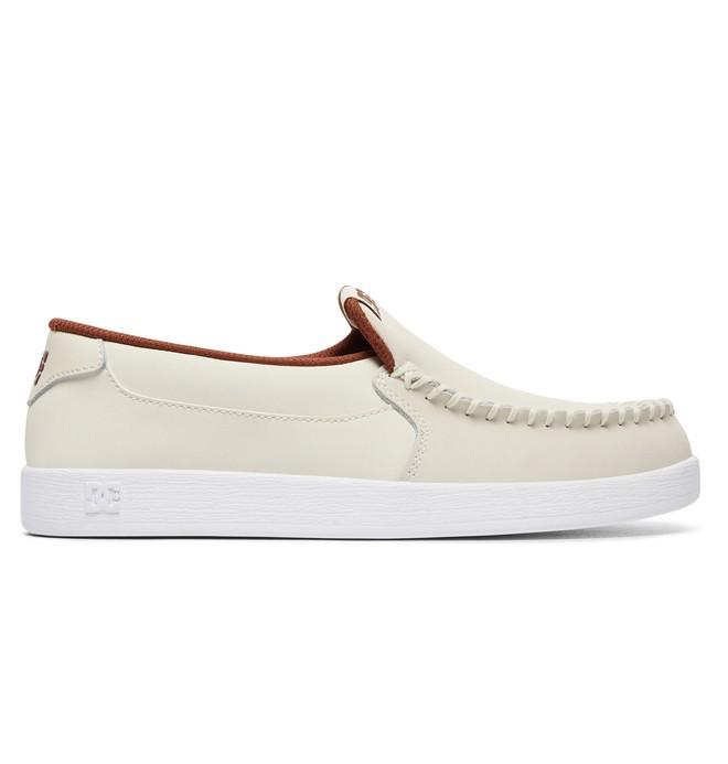 0 Women's Villain Shoes White 301360 DC Shoes
