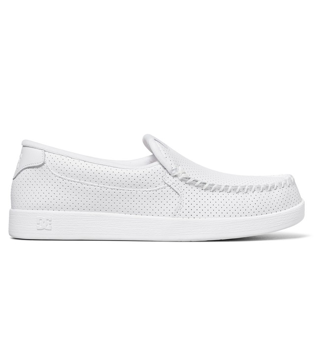 0 Villain Shoes White 301361 DC Shoes
