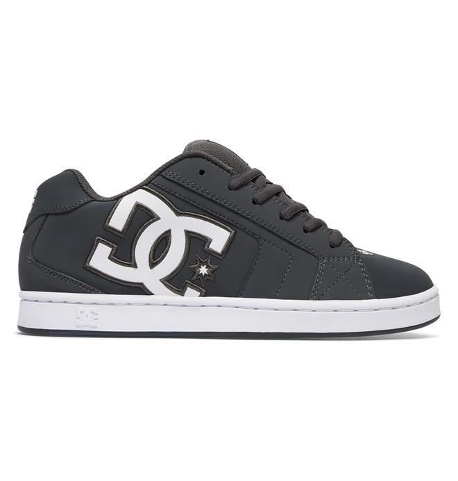 0 Men's Net Shoes Grey 302361 DC Shoes