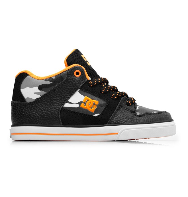 0 Boy's 8-16 Radar Mid Shoes  302402B DC Shoes