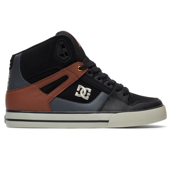 0 Pure High WC - Chaussures Noir 302523 DC Shoes