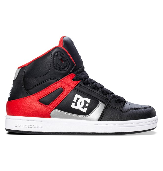 0 Kid's 4-7 Rebound High-Top Shoes  302676A DC Shoes