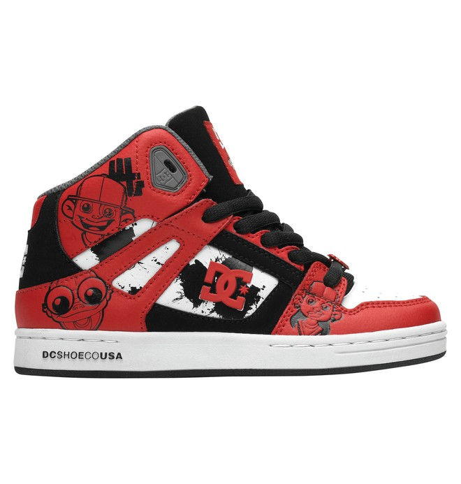 0 Kid's Wild Grinders Rebound Shoes  302932A DC Shoes