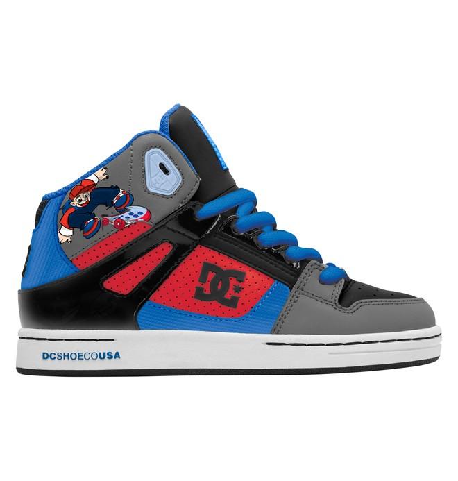 0 Boy's Wild Grinders Rebound Shoes  302932B DC Shoes