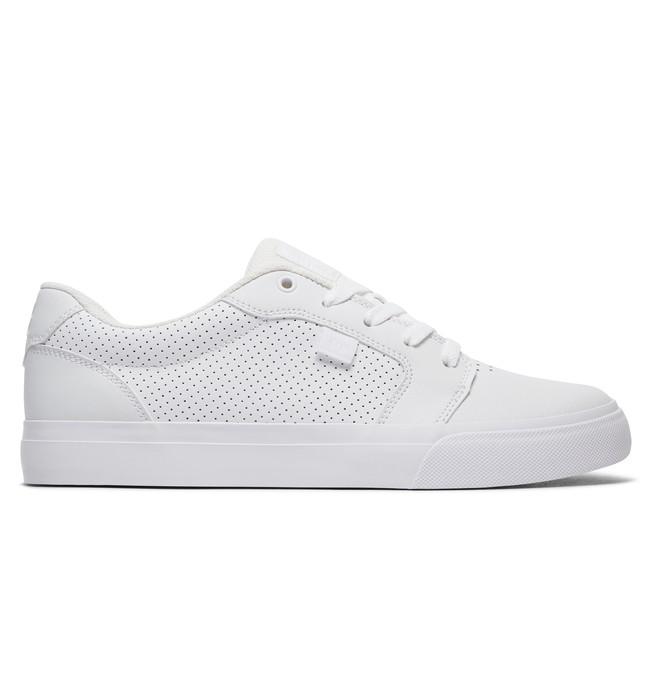 0 Men's Anvil Shoes White 303190 DC Shoes