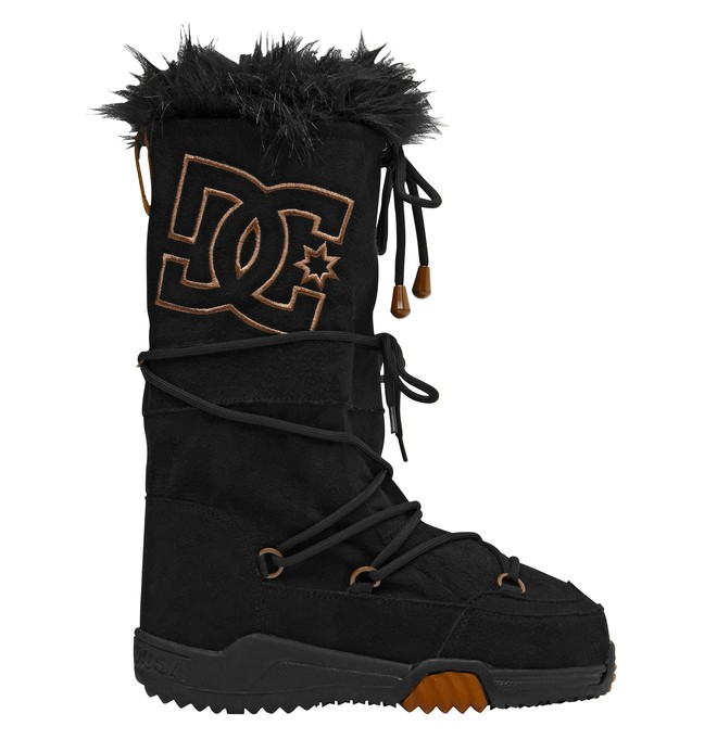 0 Women's Chalet Suede Boots  303232 DC Shoes