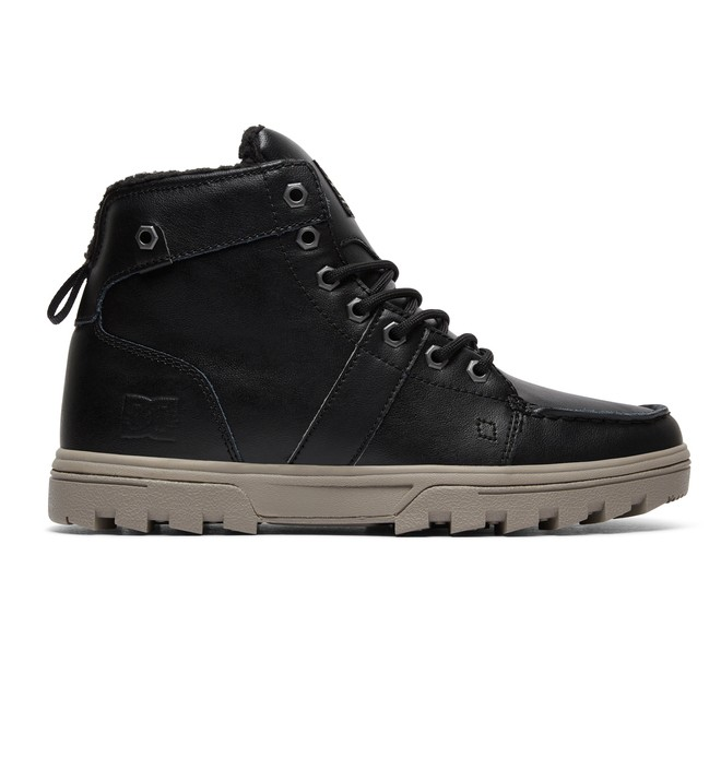 0 Woodland Lace-Up Boots Black 303241 DC Shoes