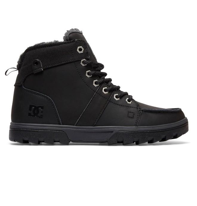 0 Woodland - Veterlaarzen Black 303241 DC Shoes