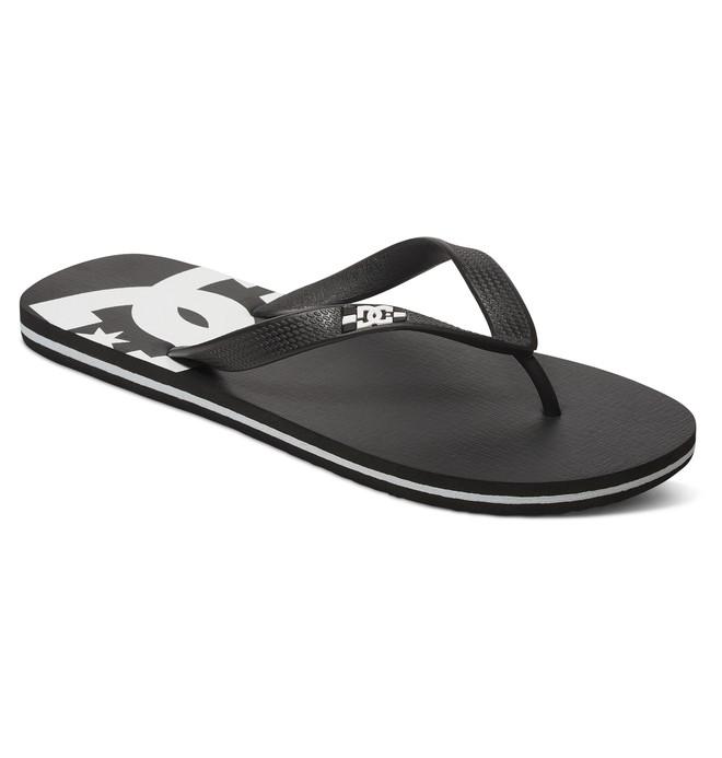 0 Spray Flip-Flops Black 303272 DC Shoes