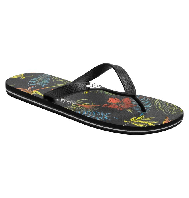 0 Men's Spray Graffik Flip flops  303276 DC Shoes