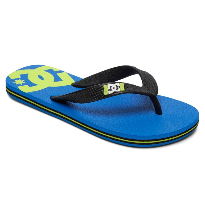 0 Spray - Flip-Flops Blue 303387 DC Shoes