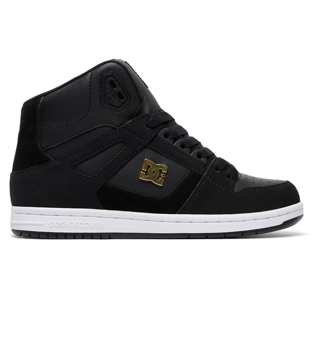 0 Women's Rebound High SE High-Top Shoes Brown 320028 DC Shoes
