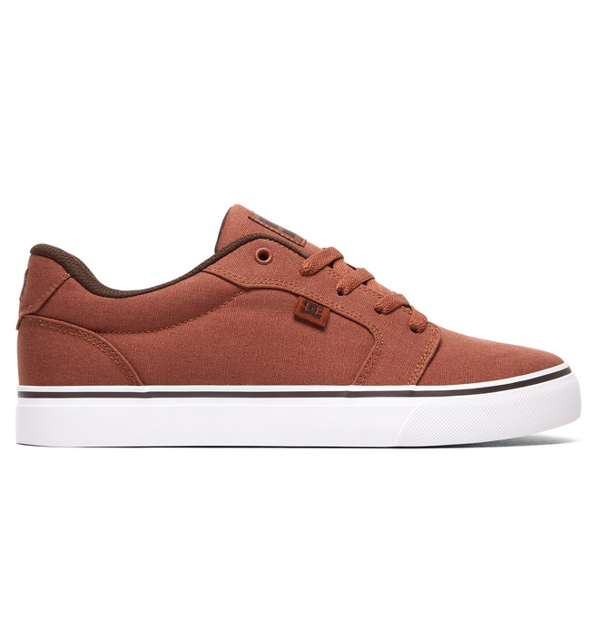 0 Men's Anvil TX Shoes Brown 320040 DC Shoes