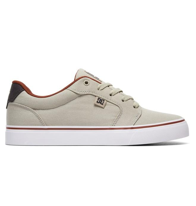 0 Men's Anvil TX Shoes Brown 320040 DC Shoes