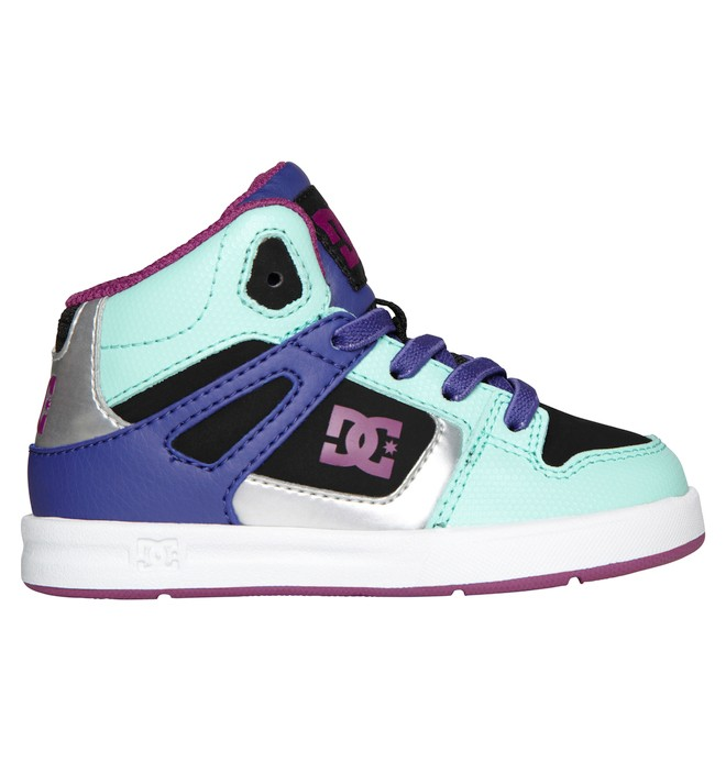 0 Boy's 2-7 Rebound UL Mid-Top Shoes  320167 DC Shoes