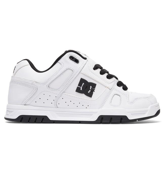 0 Men's Stag Shoes White 320188 DC Shoes