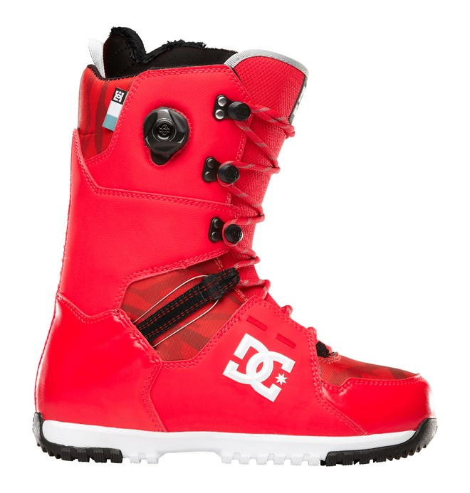 0 Men's Kush Snowboard Boots Red 320213 DC Shoes