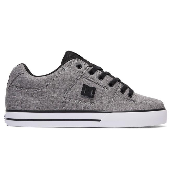 0 Men's Pure TX SE Shoes Grey 320423 DC Shoes