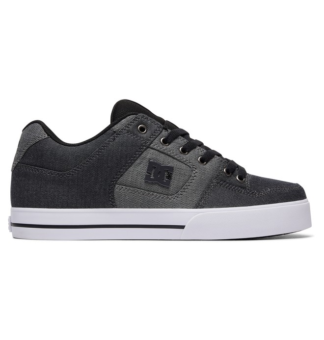 0 Men's Pure TX SE Shoes Black 320423 DC Shoes