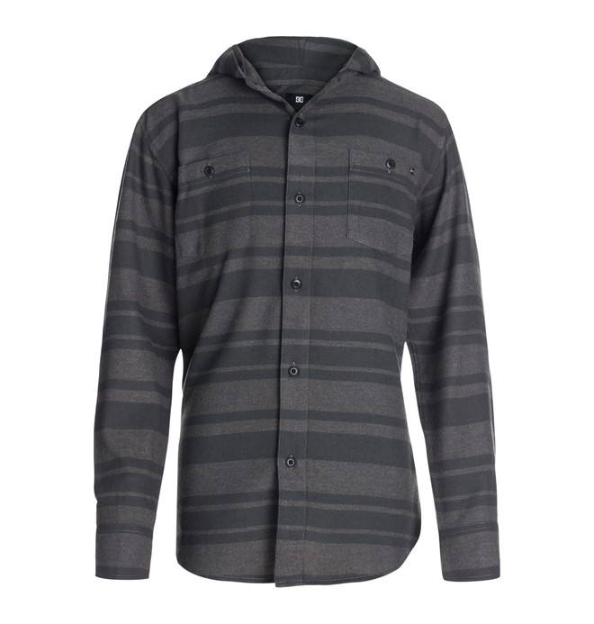 0 Sudadera Con Capucha Striped Flannel - Chicos  50464053 DC Shoes