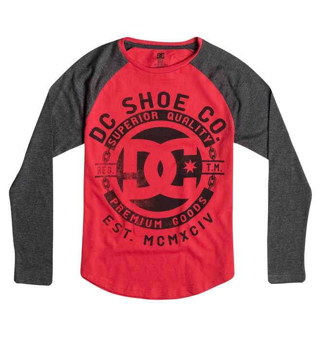 0 Kid's 2-7 Chain Raglan Tee  50654924 DC Shoes