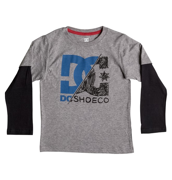 0 Kid's 2-7 DC Slash Tee  50654930 DC Shoes
