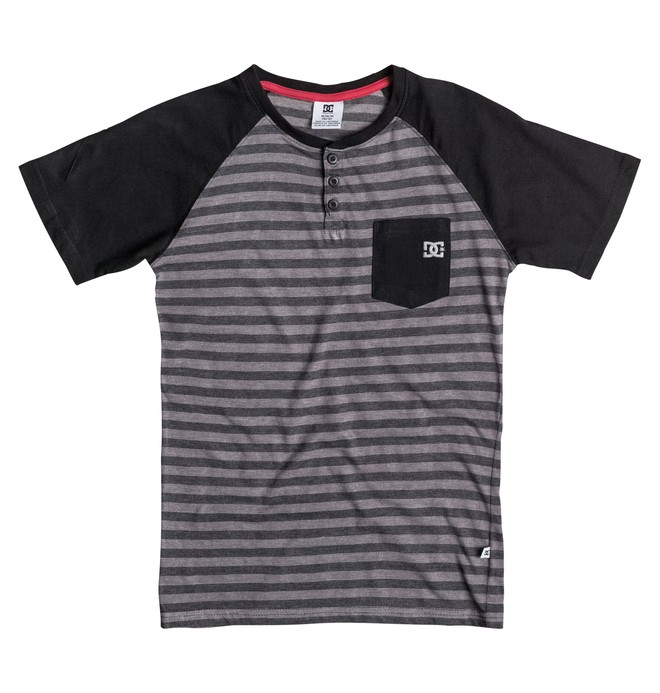 0 Youth 8-16 Exit Raglan Tee  50664014 DC Shoes