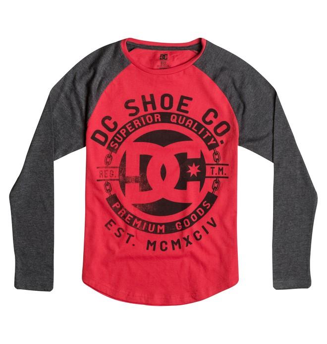 0 Boy's 8-16 Chain Long Sleeve Raglan Tee  50664024 DC Shoes