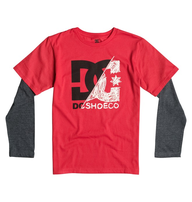 0 Youth 8-16 DC Slash Tee  50664030 DC Shoes