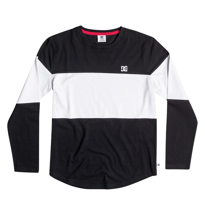 0 Boy's 8-16 Bold Block Long Sleeve Tee  50664038 DC Shoes