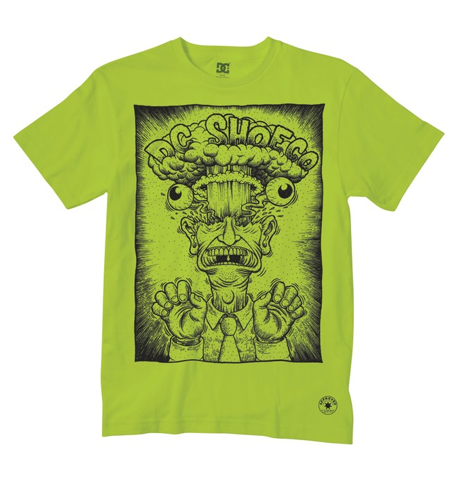 0 Men's Head Explody Tee  51200544 DC Shoes