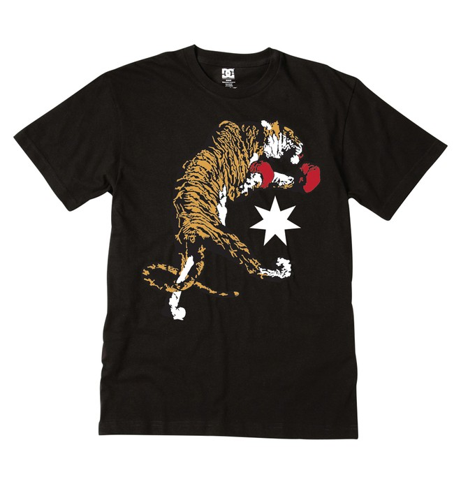 0 Men's Fighting Tigers Tee  51200571 DC Shoes